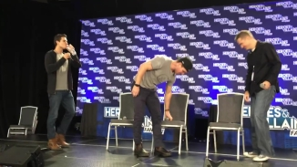 Heroes & Villains FanFest 2015 (Super Cousins Panel) [HD, 720p].mp4_000006473