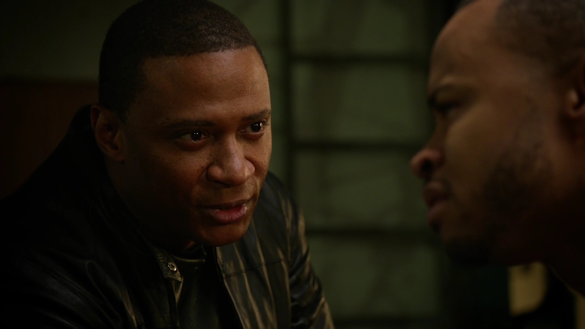 "David Ramsey and Eugene Byrd as John and Andy Diggle in Arrow ""Eleven-Fifty-Nine"""